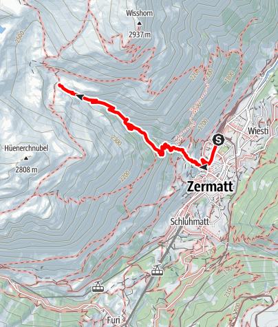 Map / Botanical Trail (Nr. 31)