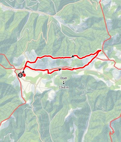 Karte / Heulantsch-Runde, Teichalm