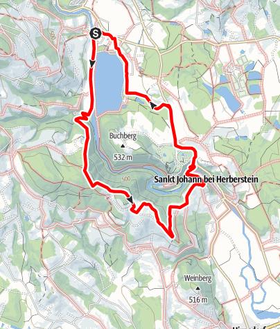 Karte / Geierwandweg