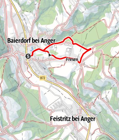 Karte / Erlebnisweg- Honigbiene