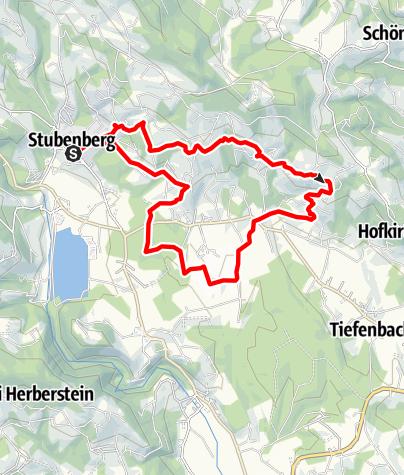 Karte / Buschenschankweg Lange Strecke