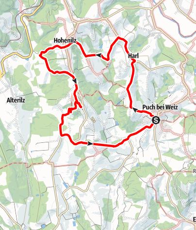 Karte / Ilzbergrunde