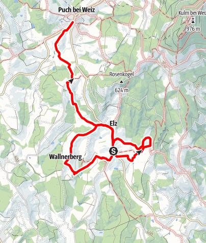 Karte / Elzer Roas