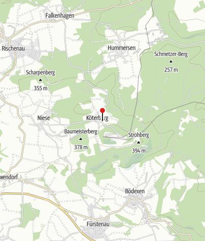 Karte / Fernblick und Schatzsuche