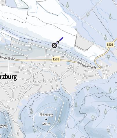 Karte / Naturrodelbahn am Butterberg