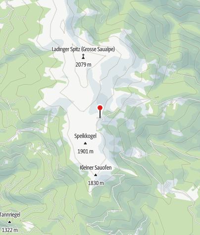 Karte / Saualpe - Wolfsberger Hütte
