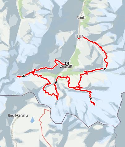 Carte / Höhenweg