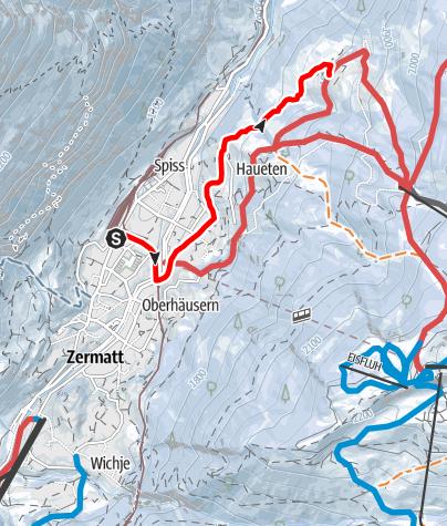 Map / Zermatt-Ried (Nr. 107)
