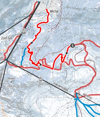 Carte / Riffelalp-Winkelmatten (Nr. 114)