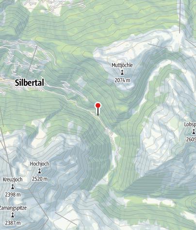 Karte / Maisäß Schwarzhans