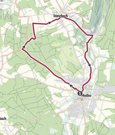 Karte / Donebacher Weg