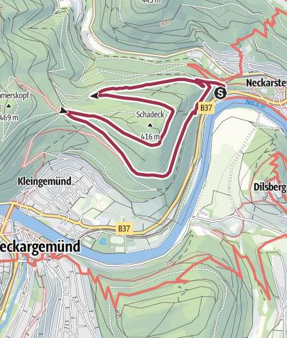 Karte / Ochsenkopf-Weg