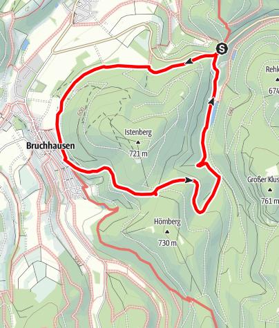Map / Schmalahtalrundweg (Qualitätstour Wanderbares Deutschland)