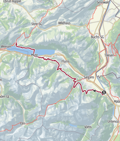 Map / 68 Walsa-Weg