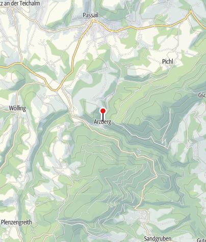 Karte / Almenland-Stollenkäse