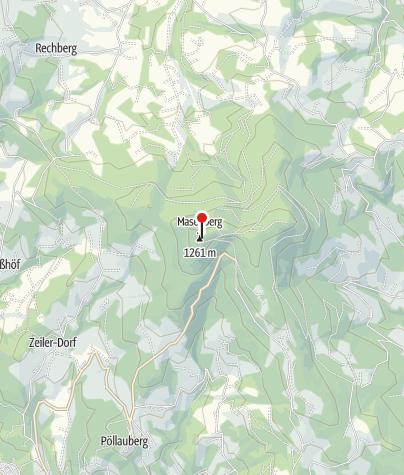 Karte / Schutzhütte Masenberg
