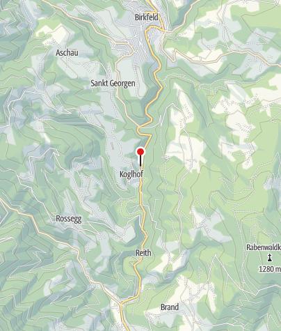 Karte / Sommerrodelbahn Koglhof