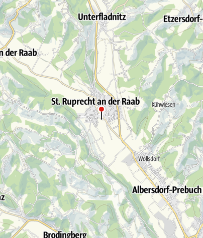 Karte / Flußbad und Familien-Erlebnisbad St. Ruprecht an der Raab