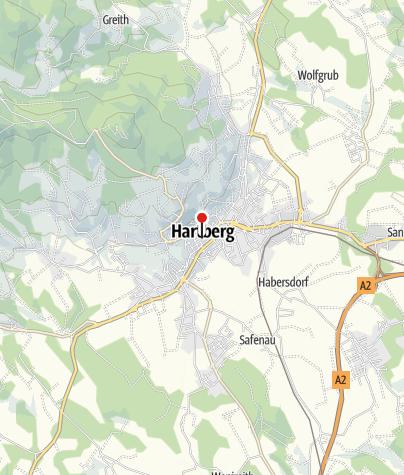 Karte / Altstadt Hartberg