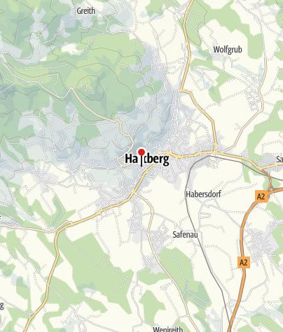 Karte / Stadtmuseum Hartberg