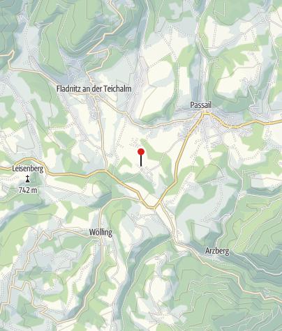Karte / Almenland Xundgarten