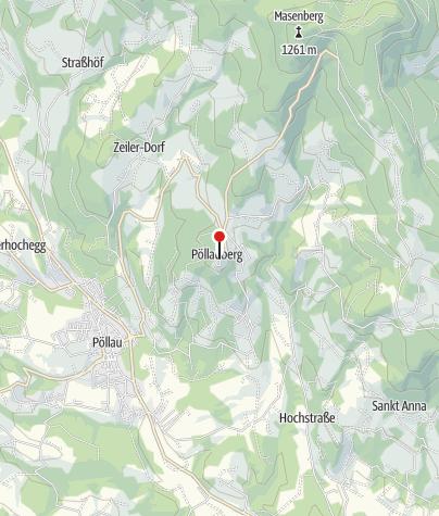 Karte / Blumen- und Gartendorf Pöllauberg