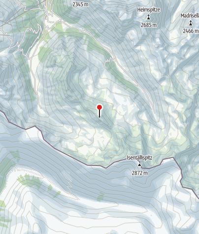 Karte / Vergaldner Schneeberg (2.588 m)