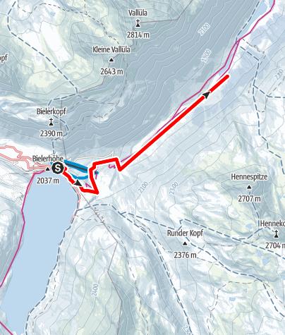 Map / Nr. 4: Loipe Galtür (klassisch)