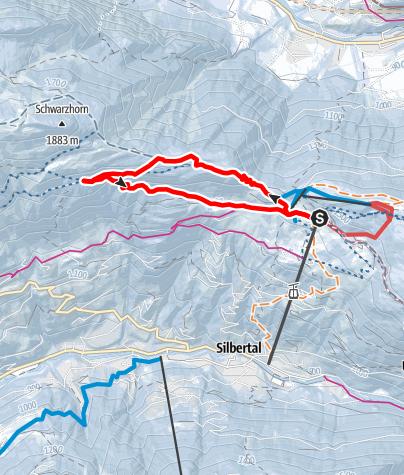 Map / Rundweg Kristberg (groß)