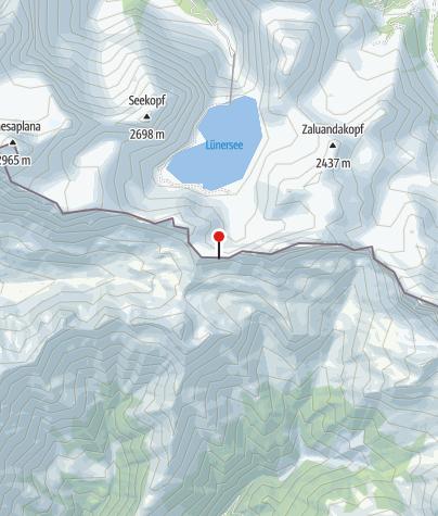 Karte / Gafalljoch (2.239 m)