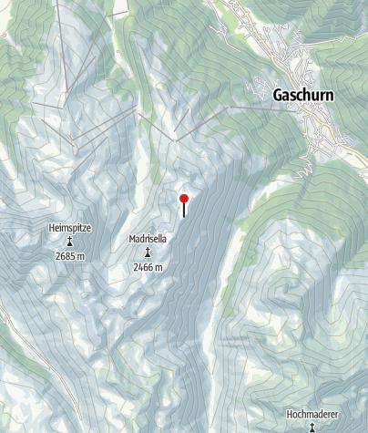 Karte / Versettlaspitze (2.372 m)