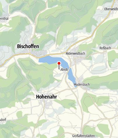 Karte / Ferienwohnung Aartalsee, Hohenahr
