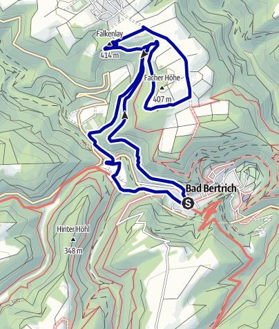 Karte / Eifelverein OG Bad Bertrich - Geo Route