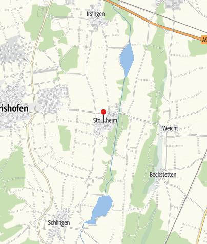 Karte / Spielplatz in Stockheim
