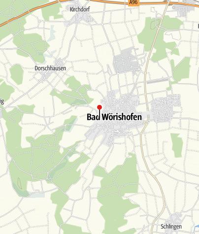 Karte / Kleiner See im Kurpark