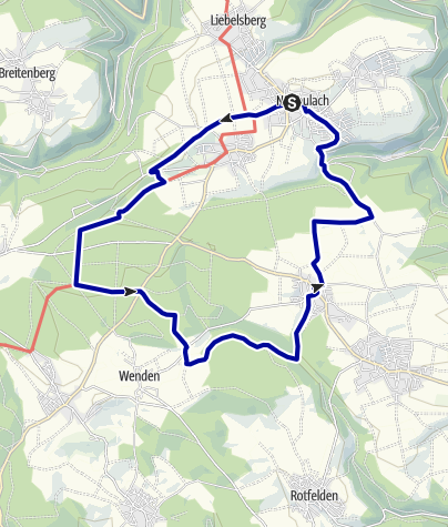 Karte / Buhlerwaldrunde