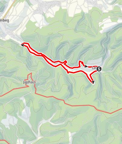 Karte / Rundweg durch´s Latroptal