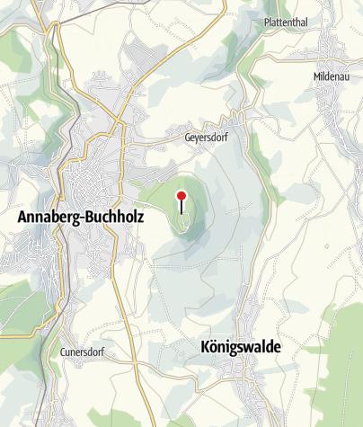 Karte / Berghotel Pöhlberg