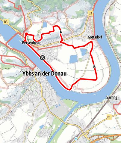 Mapa / Persenbeug 4 - Scheiben Runde