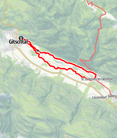 Karte / Stoffelbauerweg
