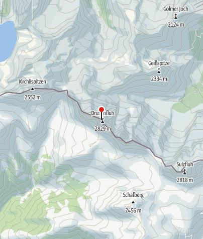 Karte / Drusenfluh (2.727 m)