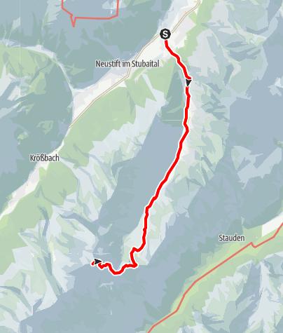 Mapa / Seven Summits - Habicht