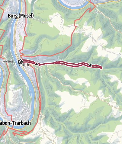 Karte / E3 - Großbachtal Enkirch