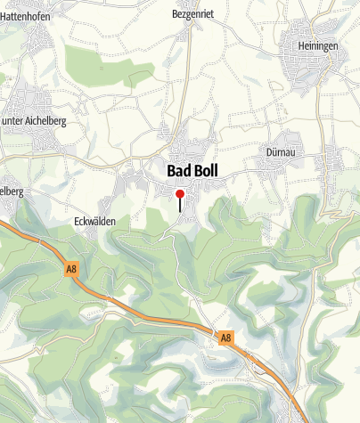 Karte / Badhotel Stauferland