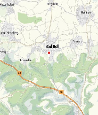 Karte / Badhotel und Restaurant Stauferland