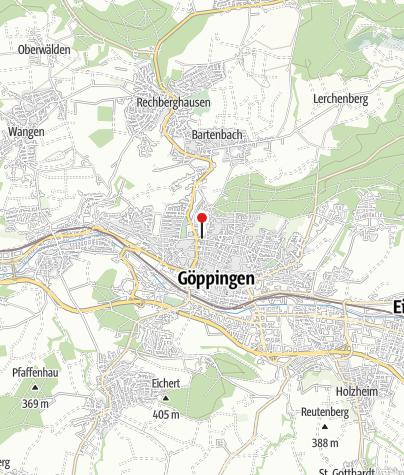 Karte / Radl Eck Göppingen