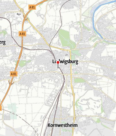 Karte / Radstation Ludwigsburg