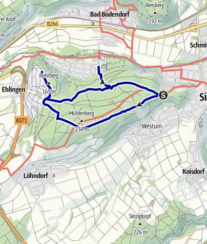 Karte / Bad Bodendorf  Rundweg Nr. 2
