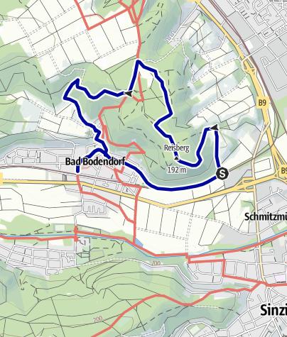 Karte / Bad Bodendorf Rundweg Nr. 6
