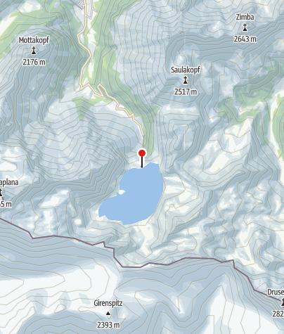 Karte / Douglass Hütte